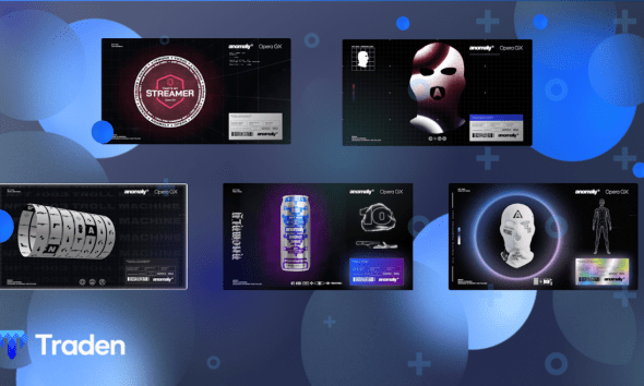 Opera collaborates with famous CS:GO streamer, Anomaly, to mint a set of 4,000 NFTs