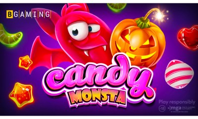BGaming starts Halloween adventure with Candy Monsta slot!