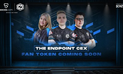 ENDPOINT CEX WILL BECOME THE FIRST UK ESPORTS TEAM TO LAUNCH A FAN TOKEN ON SOCIOS.COM