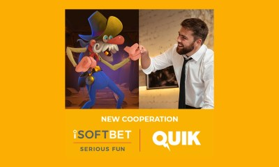 iSoftBet grows aggregation offering with Quik Gaming