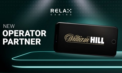 Relax Gaming partners with William Hill for latest UK expansion