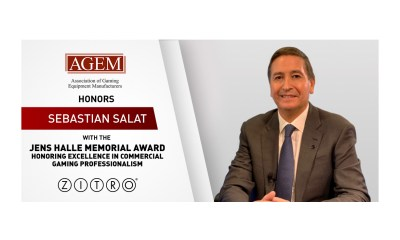 "AGEM HONORS SEBASTIÁN SALAT WITH THE ""JENS HALLE MEMORIAL AWARD"""