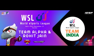 Team Alpha and Rohit Jain to represent India at the World Esports League