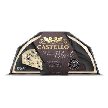 Castello Mellow Black Cheese 150g