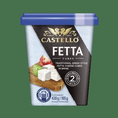 Castello Fetta Cubes in Brine 430g