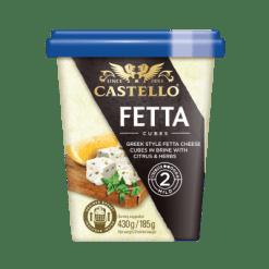 Castello  Fetta Cubes in Brine with Citrus & Herbs