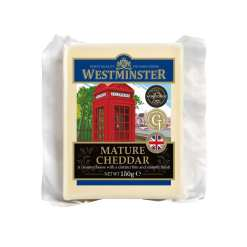 Westminster Mature Cheddar Cheese 150g