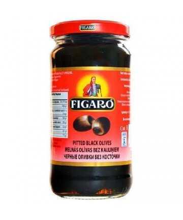 Figaro Sluced Black Olives 240g