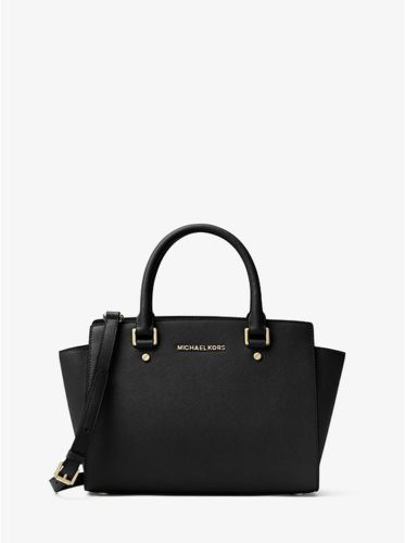 Michael kors 30S3GLMS2L selma medium satchel black