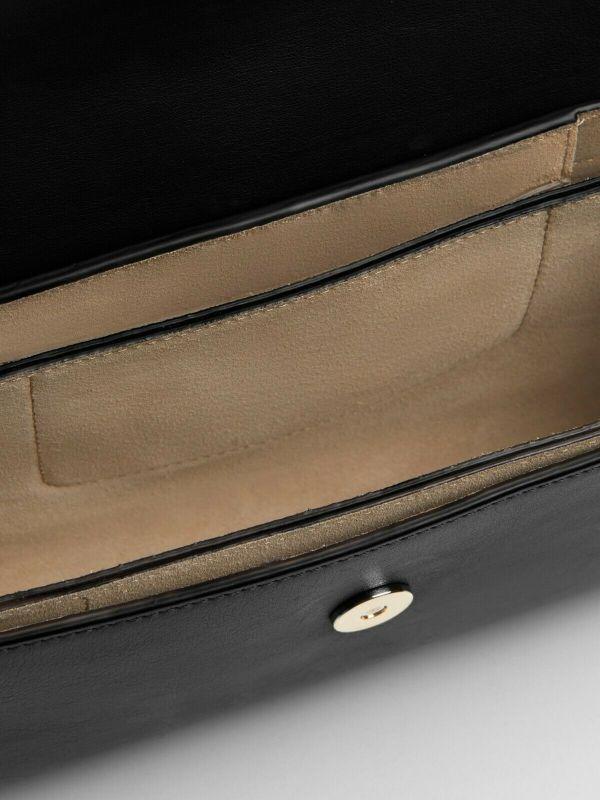 FAYE SMALL SHOULDER BAG BLACK
