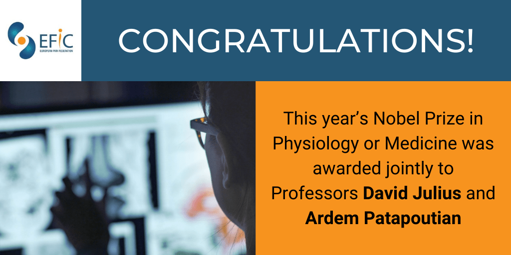 Nobel Prize in Physiology or Medicine 2021