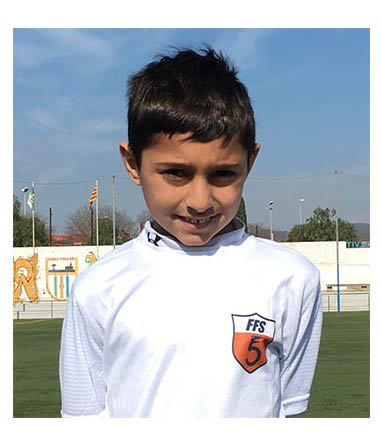 Young soccer player at ESS