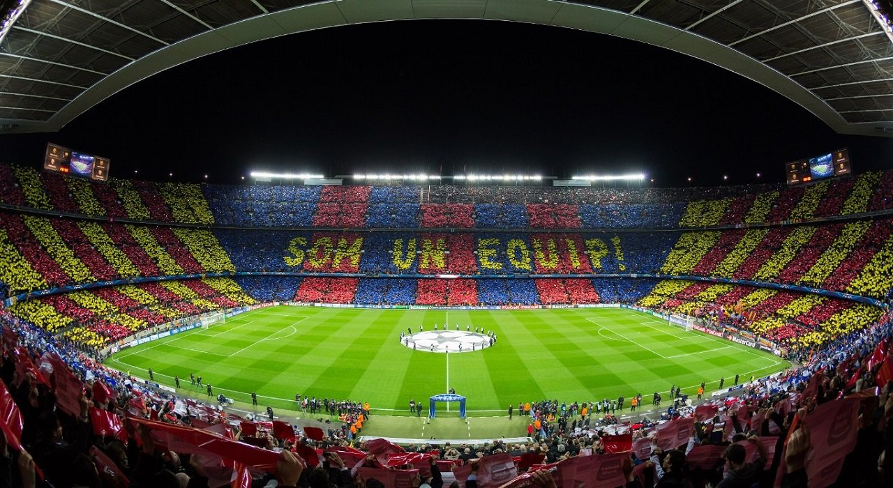Camp Nou - home of Barcelona FC