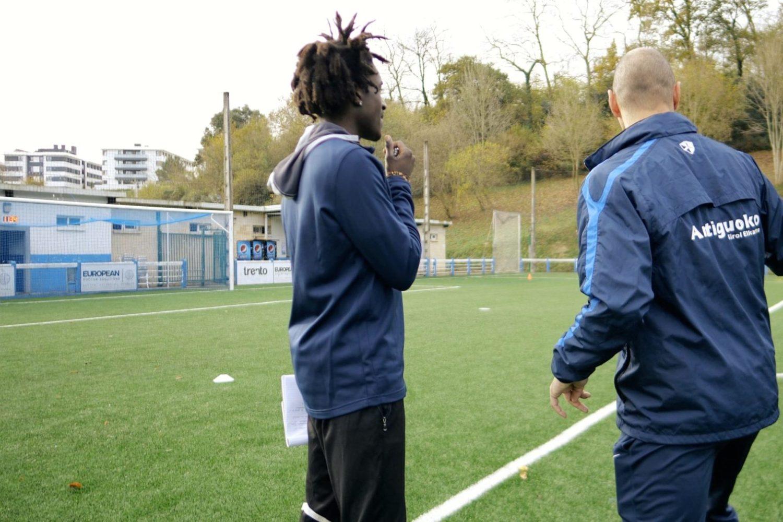 Antiguoko KE and ESS coaching staff