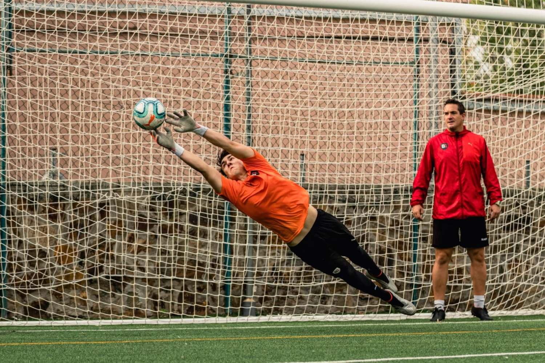 B1 Academy goalkeeper training
