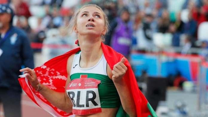 Belarusian sprinter