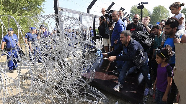 MEPs imposing migrants on Hungary