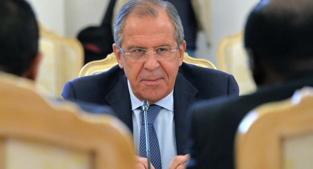 "Lavrov: NATO ambitions ""never changed"""
