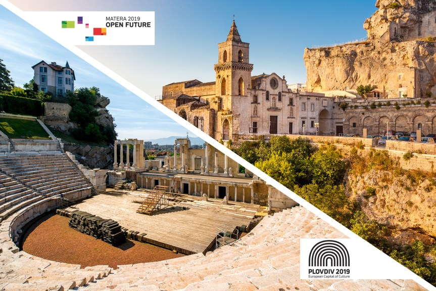 Découvrez les capitales européennes de la culture 2019: Plovdiv & Matera!