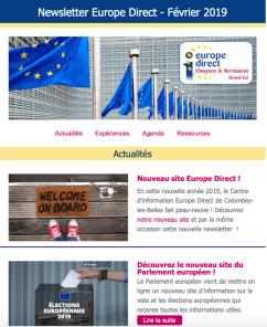 2019_newsletter Europe