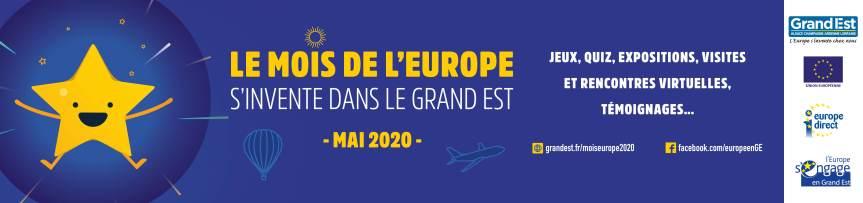Le Mois de l'Europe 2020 sera 2.0 !