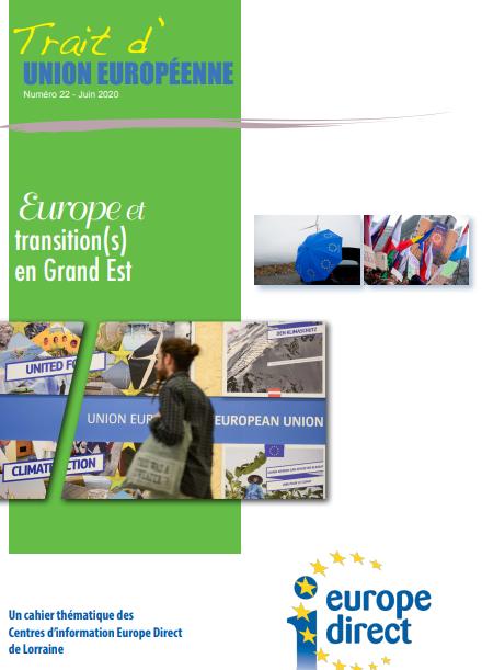 Trait d'Union européenne n°22: L'Europe et transition(s) en Grand Est