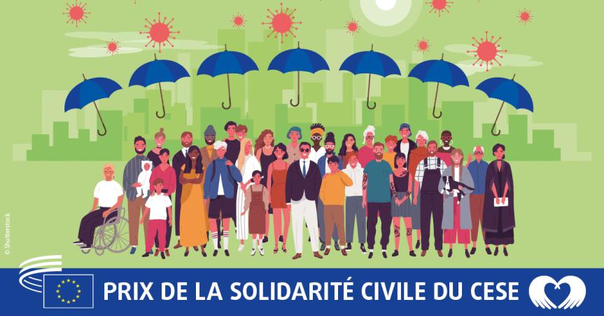 Dernière chance de devenir lauréat du prix de la solidarité civile du CESE, consacré à la lutte contre le coronavirus