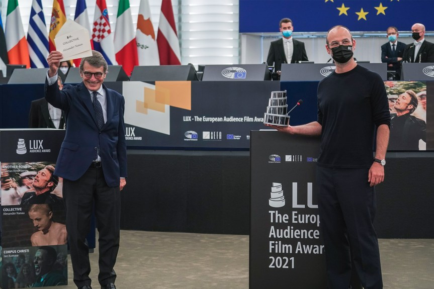 """Le Prix LUX du public 2021 a été remis à """"L'Affaire collective"""""""