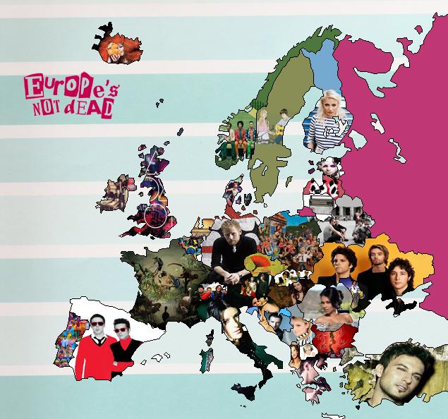 Playlist pop européenne