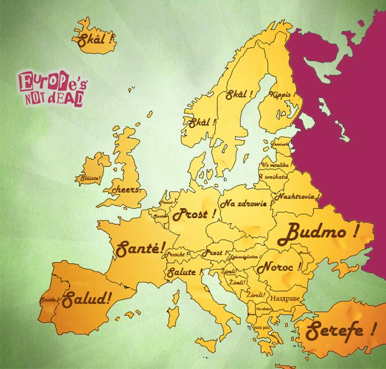 Toasts Européens