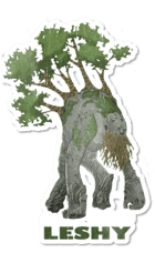 Poland - European creature - Leshy