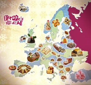 Gâteaux de Noël européens