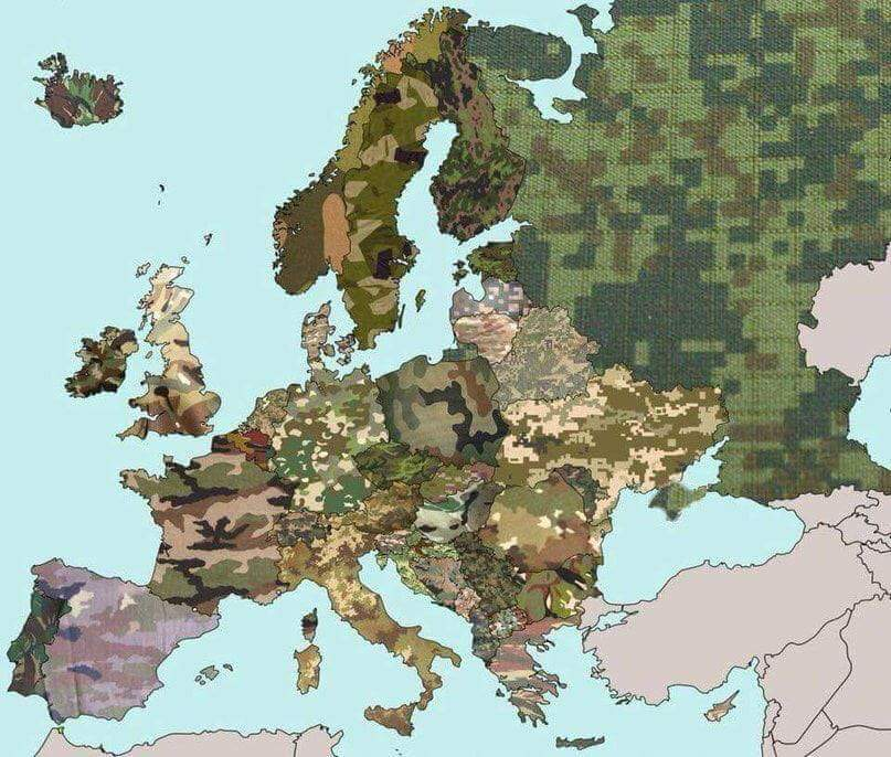 European Military Camouflages