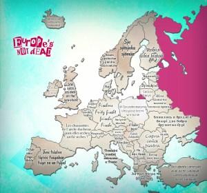 Virelangues Européens