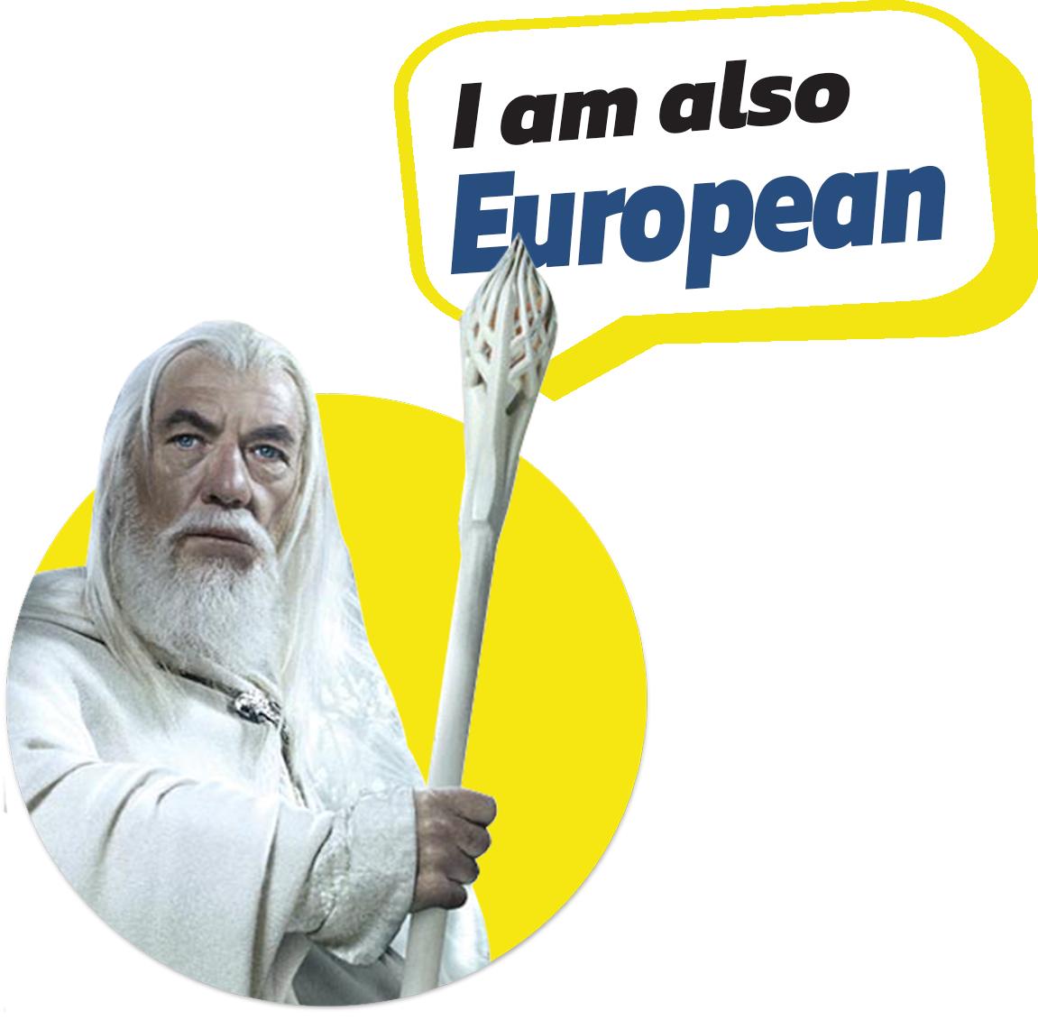 European Characters -Gandalf