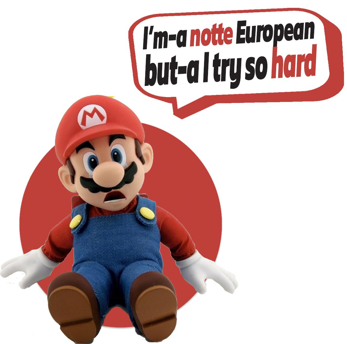European Characters -Mario