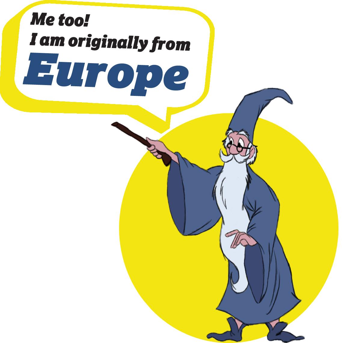 European Characters - Merlin