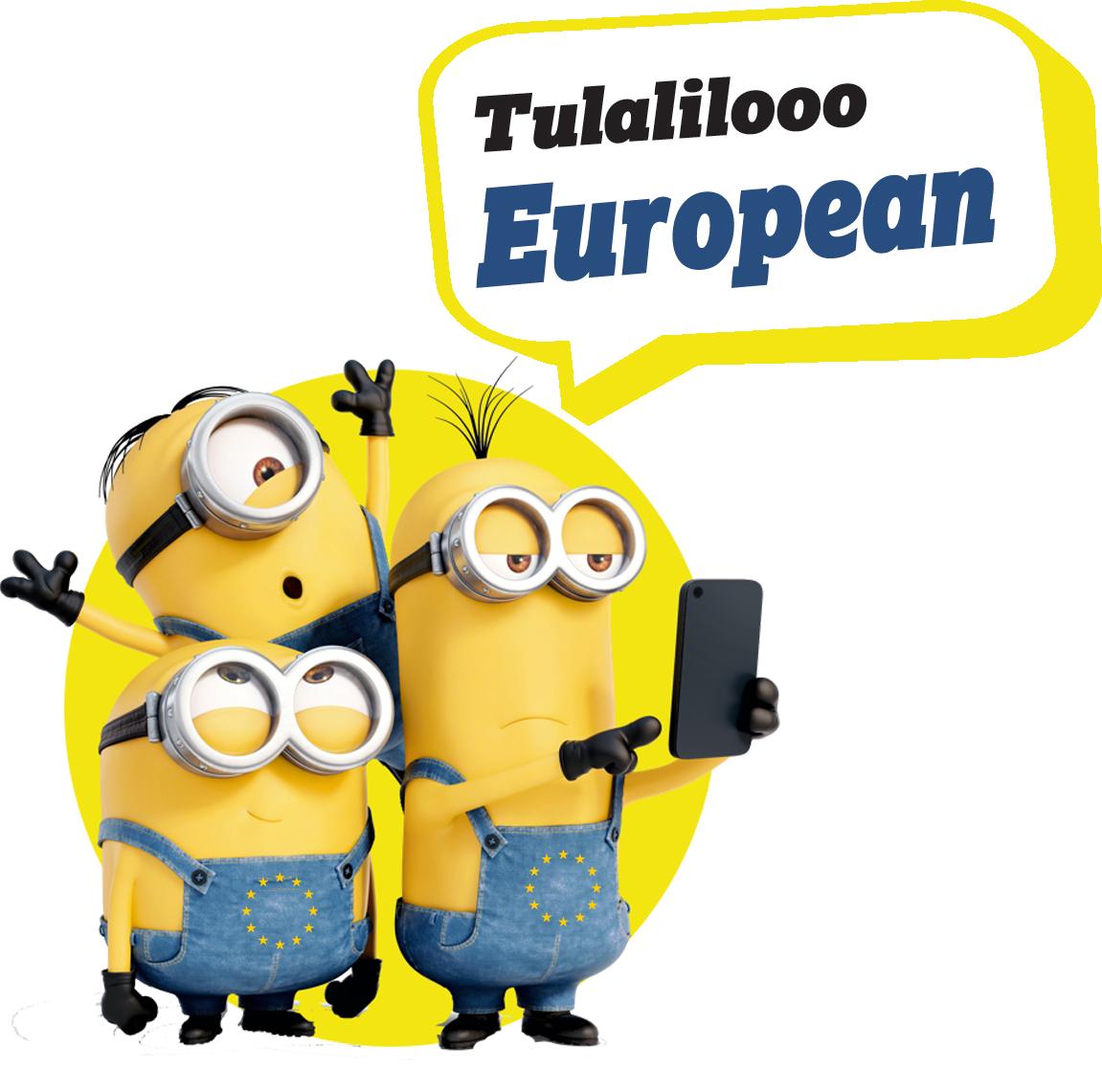 European Characters -Minions