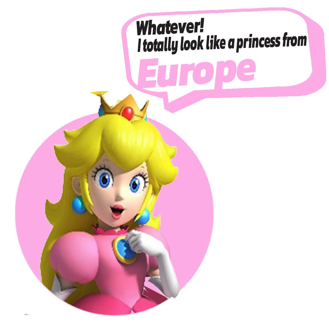 European Characters -Peach