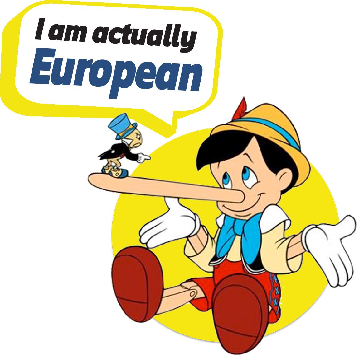 European Characters -Pinnocchio