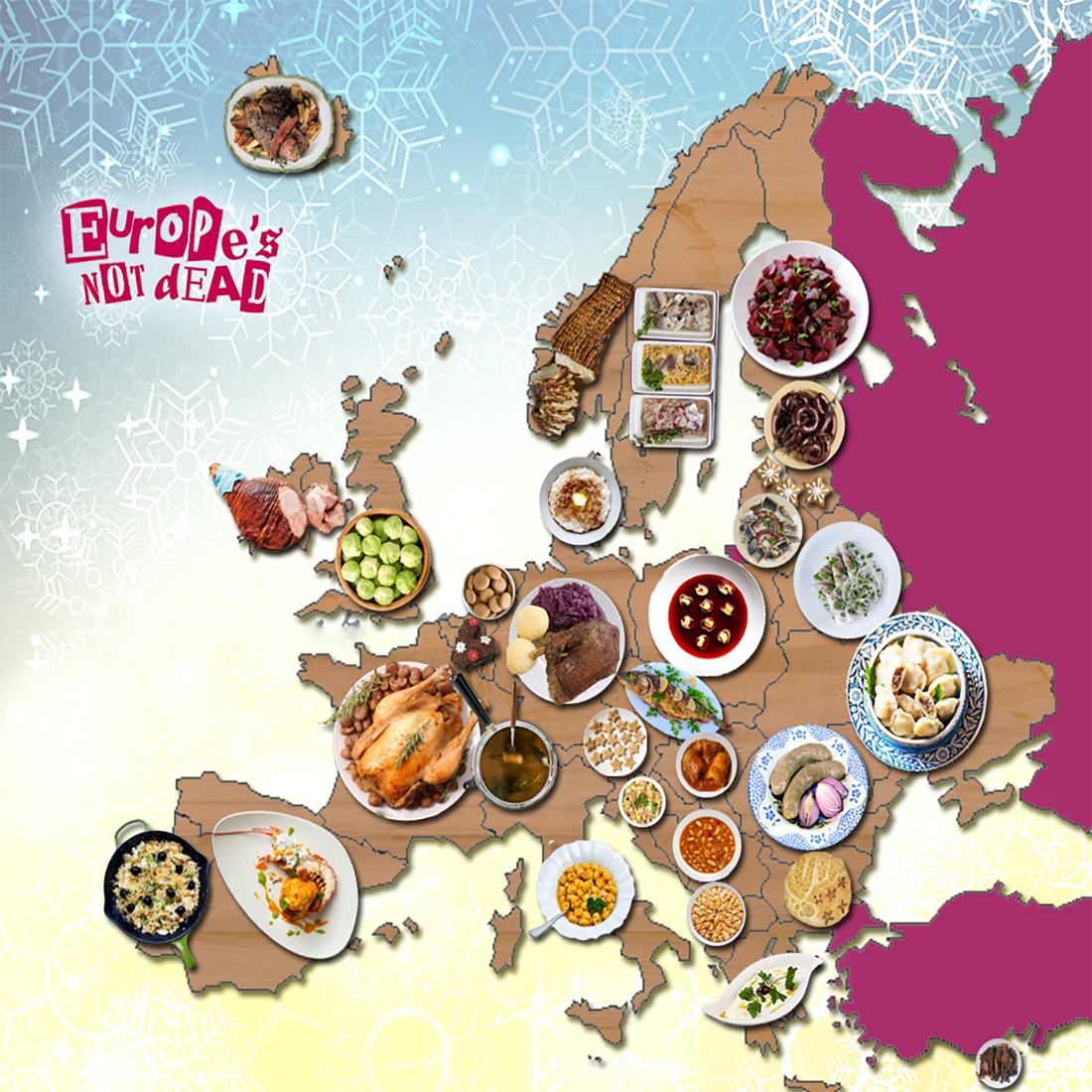 European Christmas Dinners