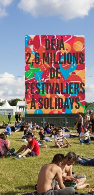 France - European Festival - Solidays 3