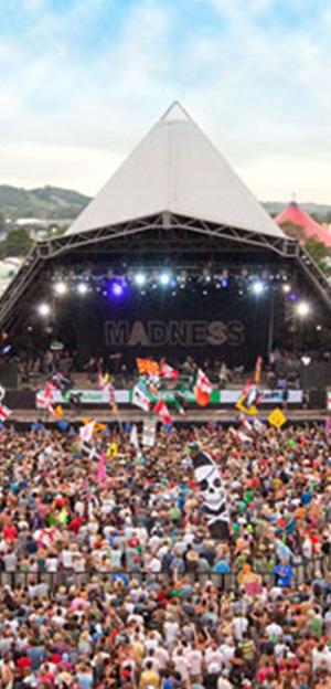 United Kingdom - European Festival - Glastonbury festival 1