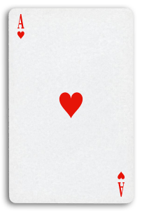 French-Suited Playing Cards - Coeurs - Hearts