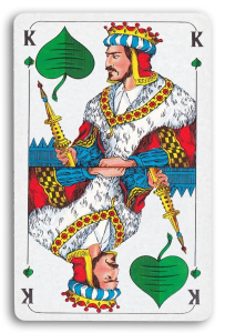 German-Suited Playing Cards - Laub - Leaves 2