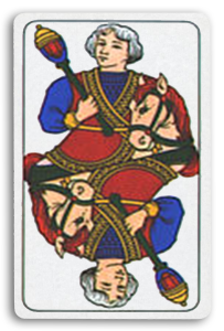 Italian-Suited Playing Cards - Bastoni - Batons 2