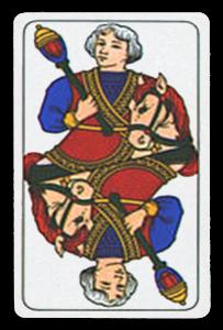 Italian-Suited Playing Cards - Bastoni - Batons 2