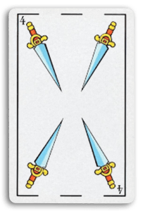 Spanish-Suited Playing Cards - Espadas - Swords