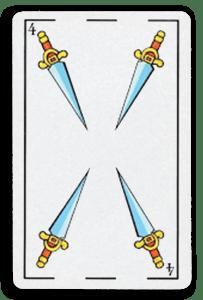 Spanish-Suited Playing Cards - Espadas - Swords