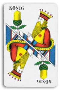 Swiss-Suited Playing Cards - Eicheln - Acorns 2